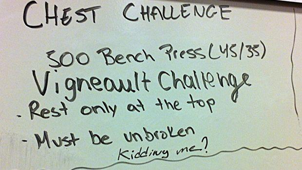 Chest-Con: The Vigneault Challenge   T Nation