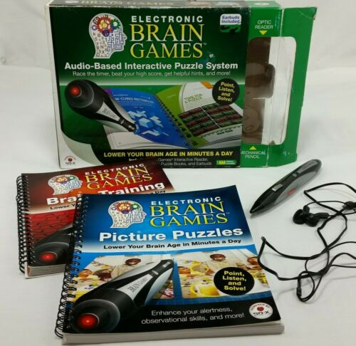 Electronic Brain Games Audio Based Interactive Puzzle