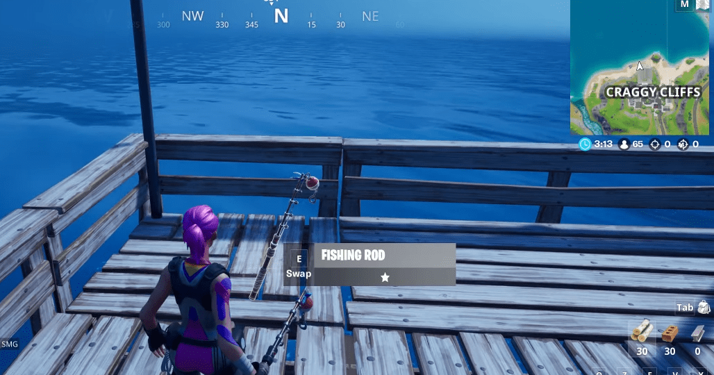 Fortnite Chapter 2 Season 1 How And Where To Catch A Weapon With A Fishing Rod Location Here Is How You To Complete The New Cha Fortnite Fishing Rod Season 1