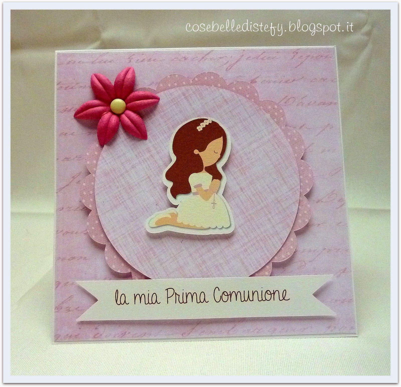 Popolare Invito prima comunione | My creations | Pinterest | Prima  FG21