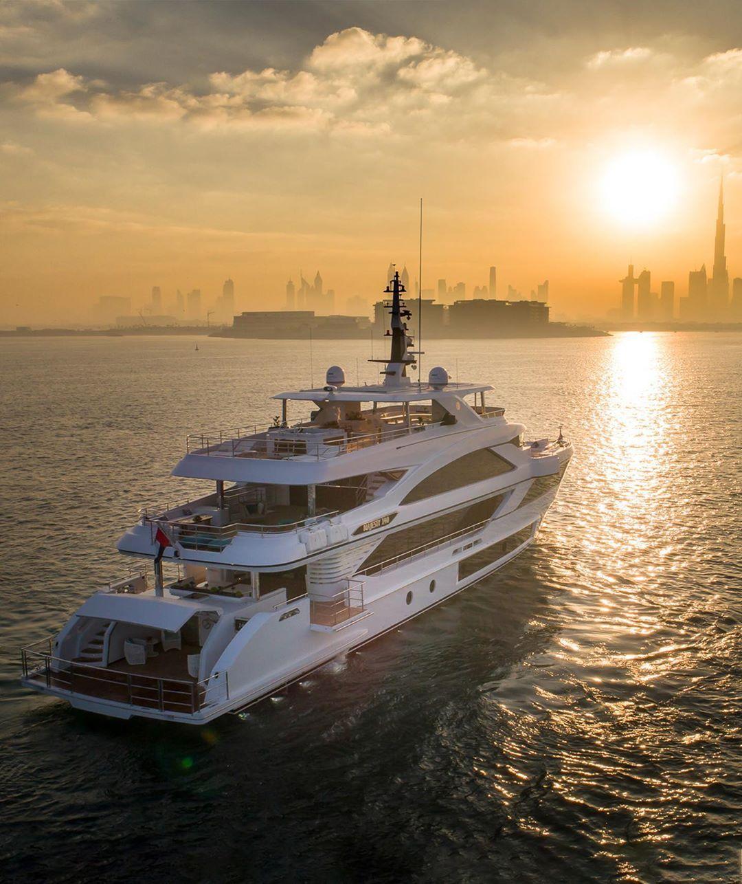 "YachtWorld On Instagram: ""Dubai's Only Superyacht Builder"