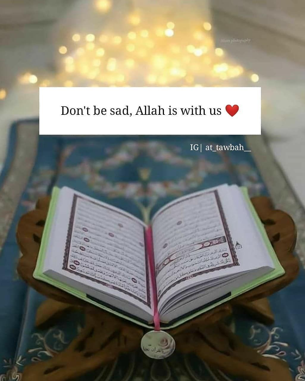 لا تحزن ان الله معنا Iman Ayat Quran Artis Kecil
