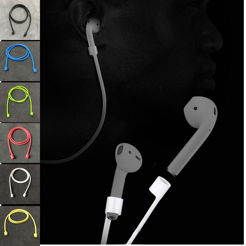 Click To Buy Silicone Airpod No Loss Straps For Iphone7 7plus Wireless Earphone Bluetooth Earphones Soft Anti Lost Rope Connect Cable Affiliate