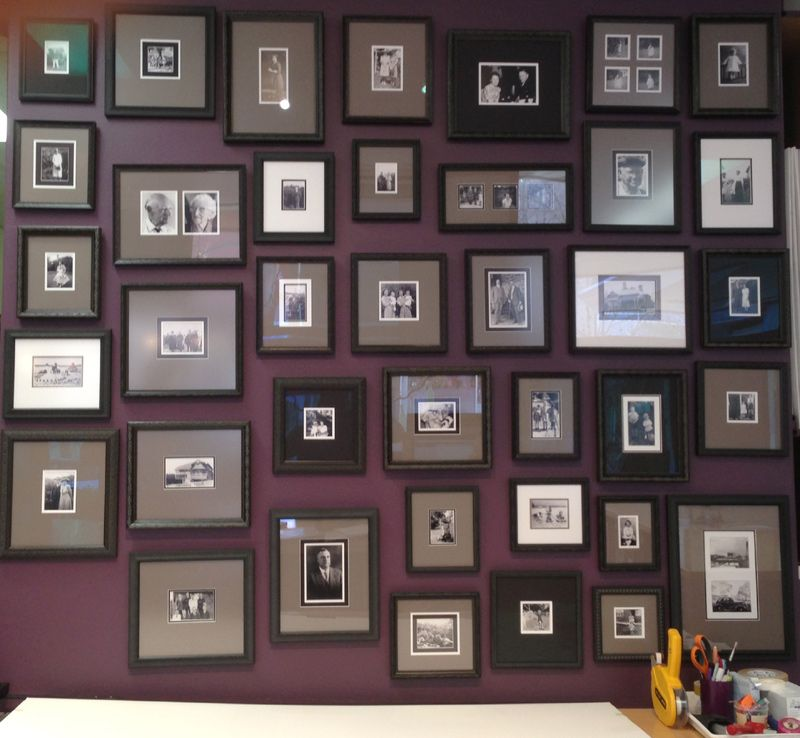 Came Across This Magnificent Frame Wall Collage Display At A Framing