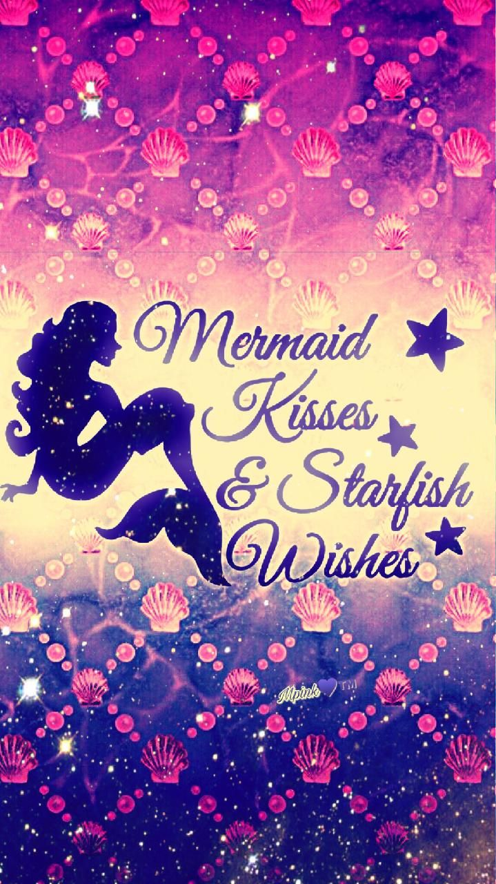 Download Mermaid Kisses Wallpaper by mpink27 - 1c - Free ...
