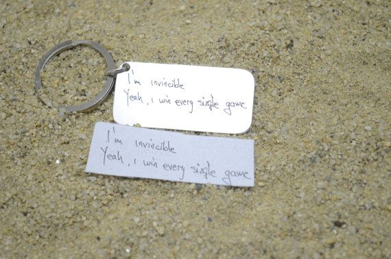 Gifts for Mom-Handwriting keychain-Christmas Gifts- Stocking Stuffer