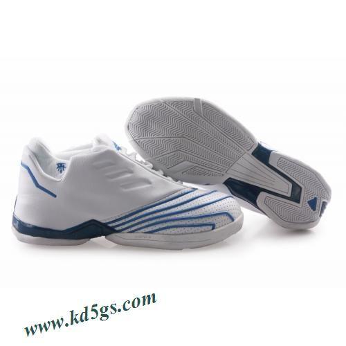 0b4b316a5af7 Adidas T-Mac 2 Tracy McGrady Shoes White Blue