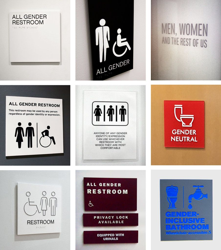 bathrooms college bathroom on complete gender language signs example ideas of neutral custom restroom images campuses lovely malerestroom sign large