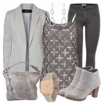 GrayStar Damen Outfit - Komplettes Freizeit Outfit günstig kaufen    FrauenOutfits.de 44d33b1234