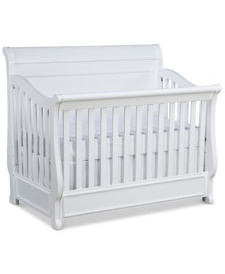 Roseville 4 In 1 Convertible Baby Crib Convertible Baby