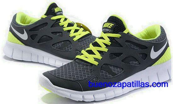 8d242306148a Hombre Nike Free Run 2 Zapatillas (color   vamp - negro
