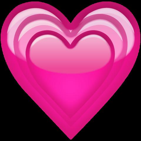 Growing Pink Heart Emoji День святого валентина, Обои и