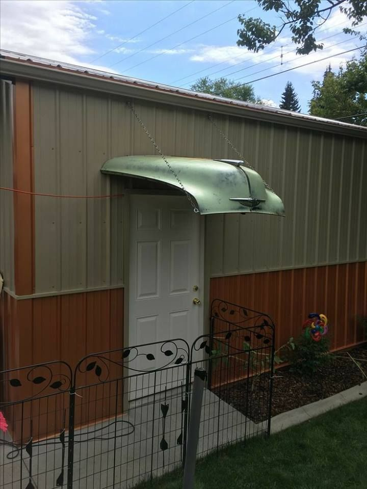 Original Awning Pole Barn Gary Automotive Furniture