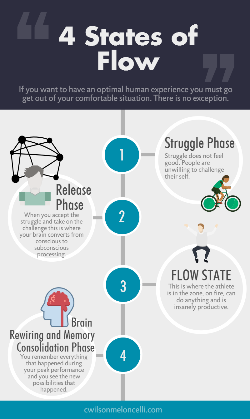 The Neuroscience Of Flow State Effects On Sports Athletes Flow Psychology Neuroscience Flow State