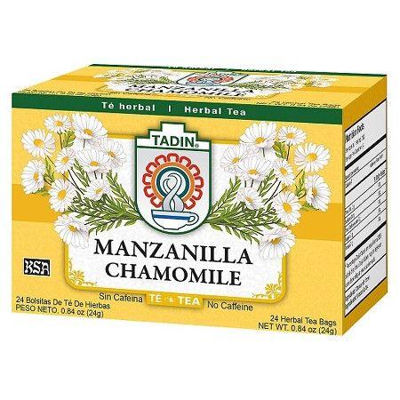 Tadin Manzanilla Herbal Chamomile Tea 24 Ct Target Chamomile Tea Herbalism Herbal Tea