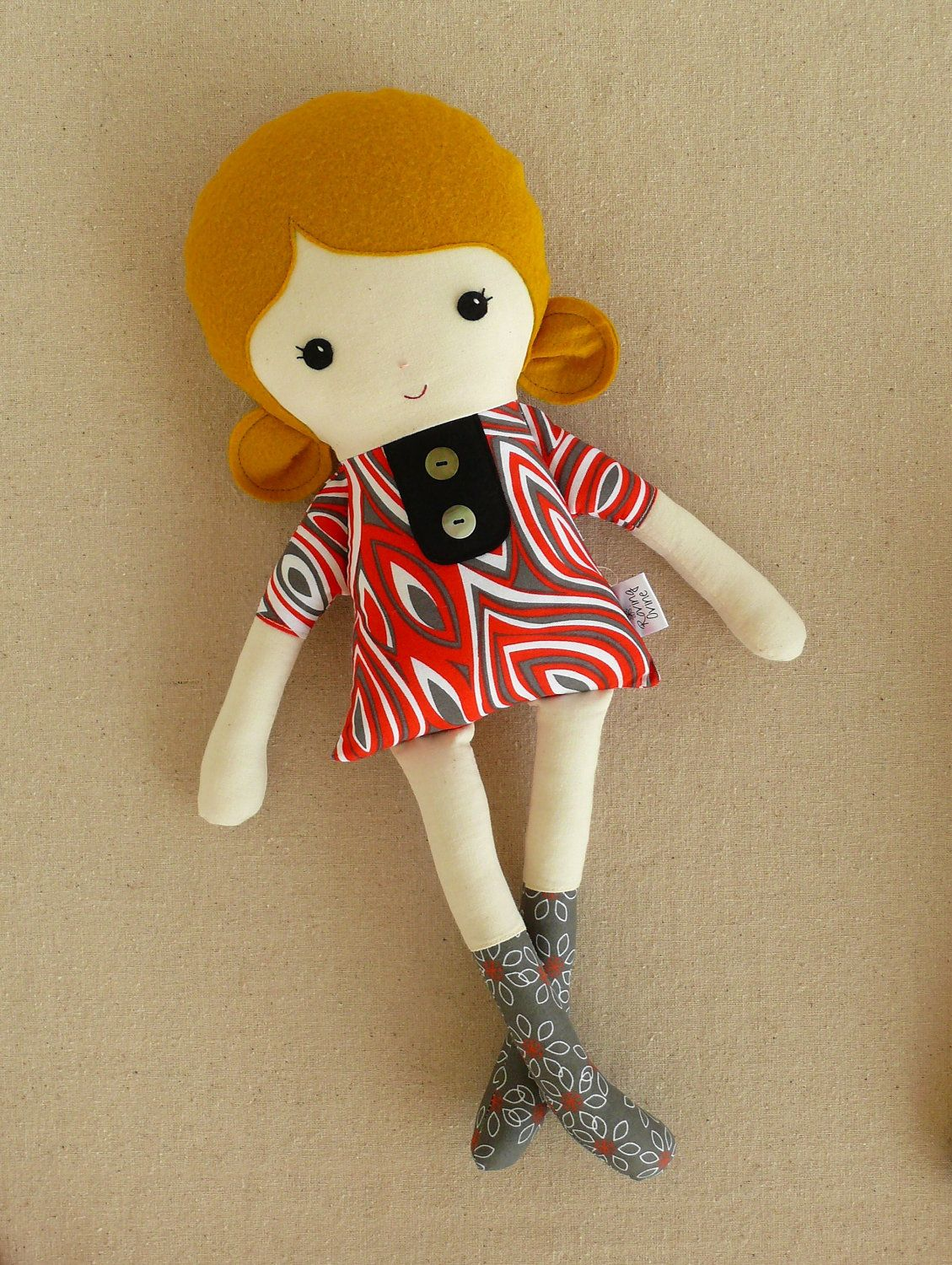 new doll for baby girl by Roving Ovine