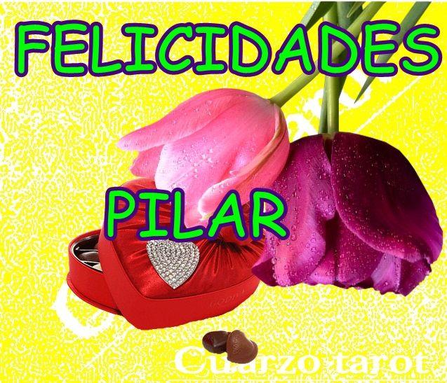 Felicidades A Todas Las Pilares Felizdomingo Felicidadespilar Https Www Cuarzotarot Es Feliz Día Feliz Cumpleaños Gracioso Mensajes De Bendiciones