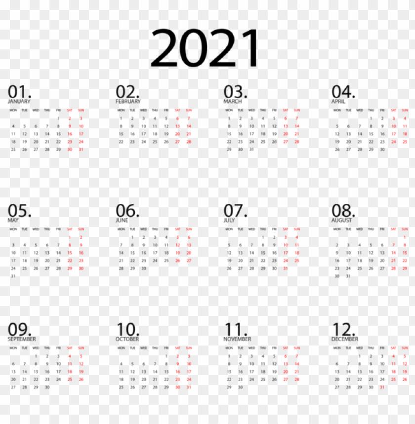 Calendar 2021 Black Transparent Png Image With Transparent Background Png Free Png Images Calendar Png Free Png Png