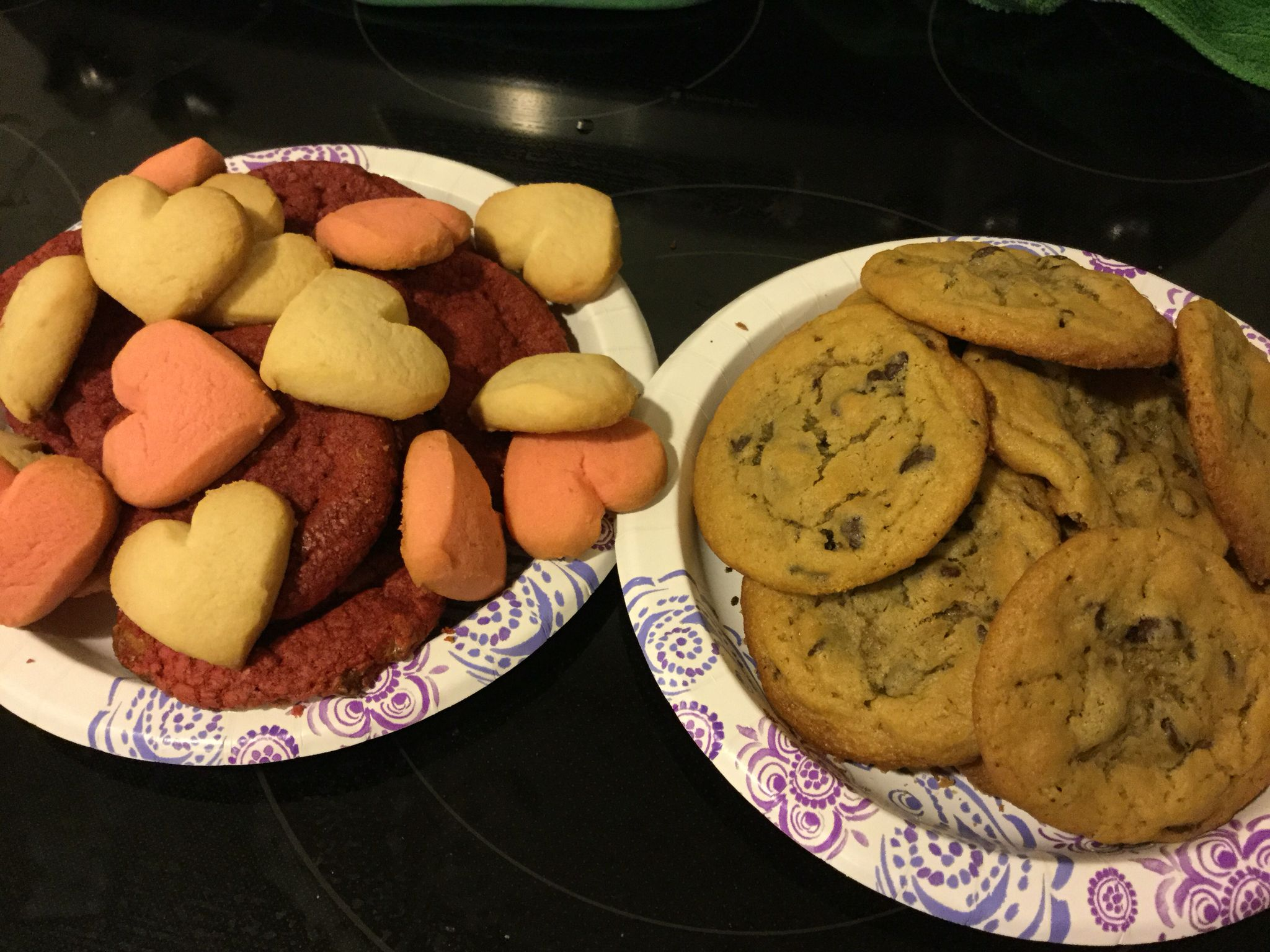 Cookie night with my valentines