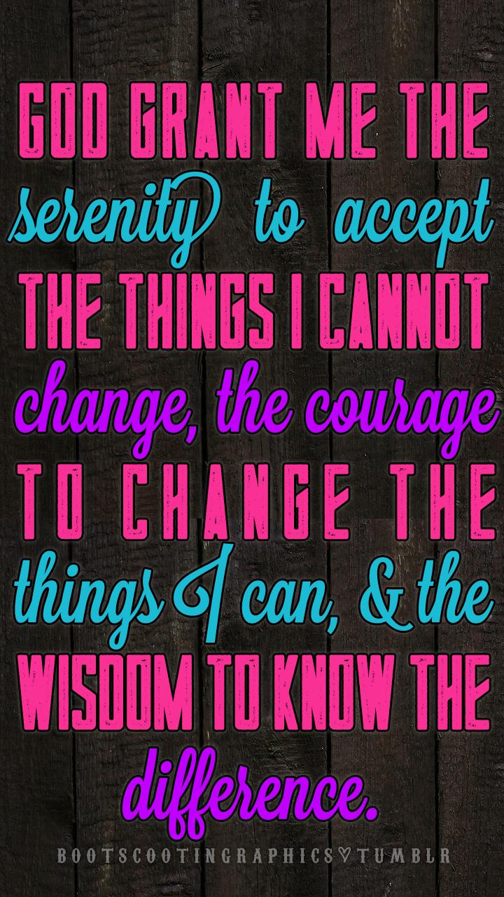 Serenity Prayer Serenity Prayer Wallpaper Prayer Wallpaper Inspirational Quotes