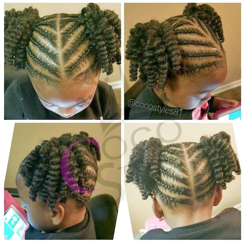 Two Ponytails Kid Hairstyle Cutekidshairstyles If You Liked This Pin Click Now For More Details Hair Styles Kids Hairstyles Natural Hair Styles