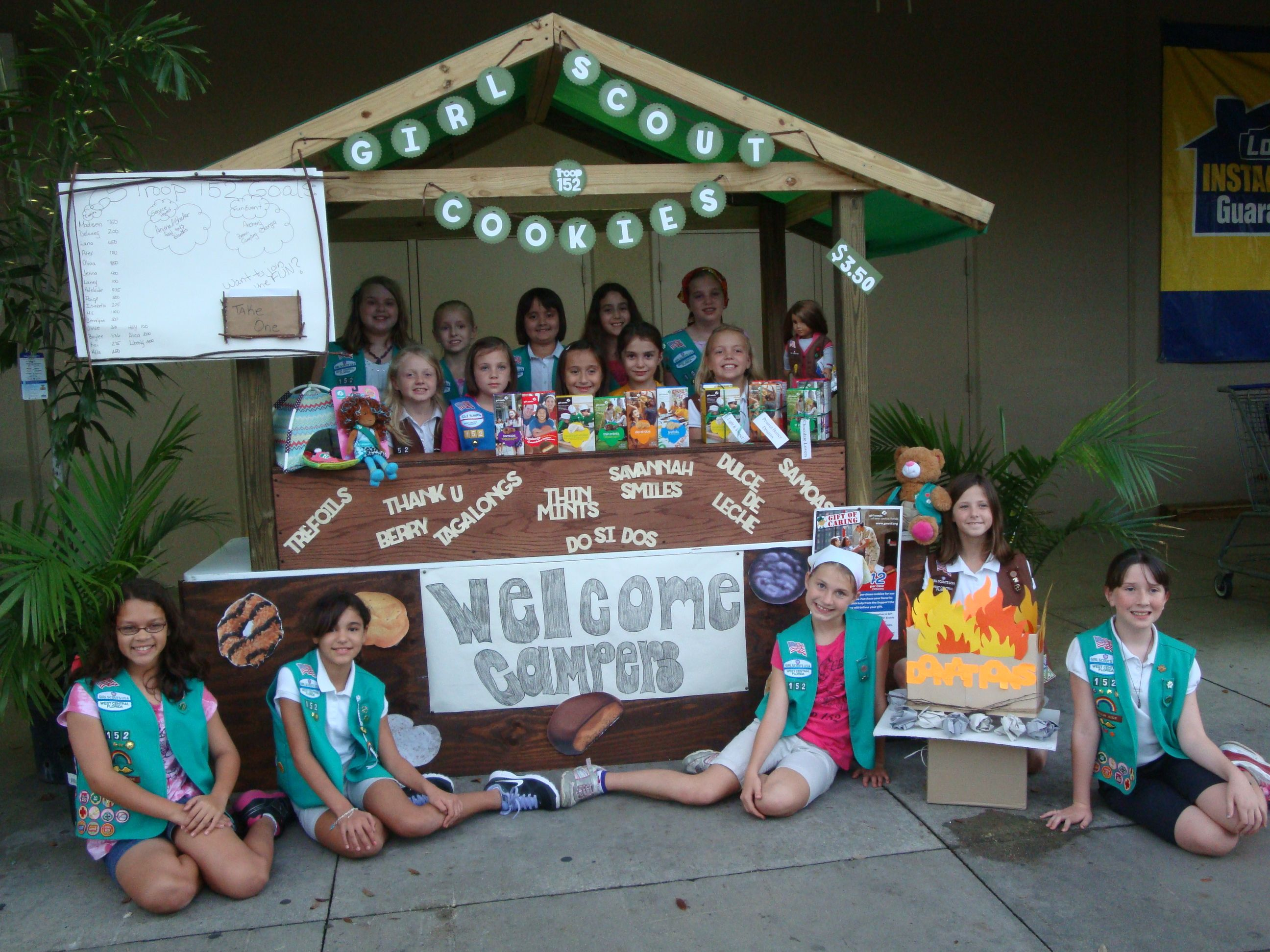Girl scout scrapbook ideas - Girl Scout Cookie Booth Saferbrowser Yahoo Image Search Results