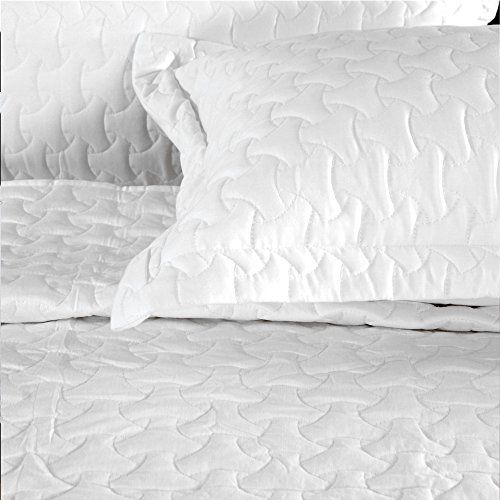 Cambay Linens Hotel Collection Cosmo 100 Cotton Quilt Set Of 3