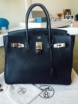 f66015bf20c7 Get one of the hottest styles of the season! The Hermes Birkin 30 Togo 2006  Handbag is a top 10 member favorite on Tradesy.
