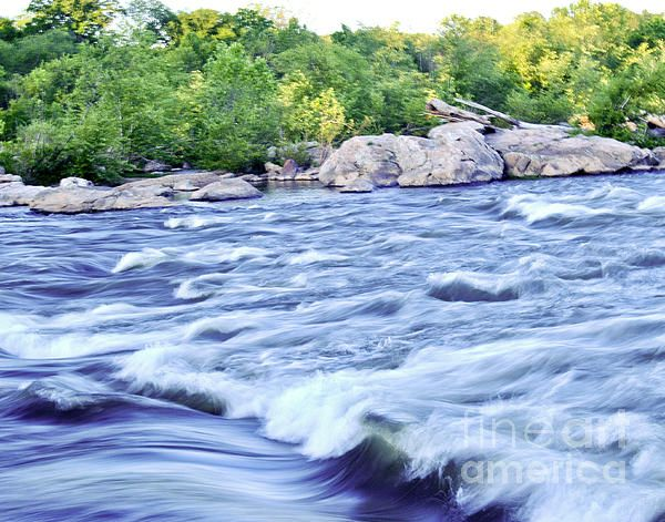 Title: Rappahanock Rapids Artist: Leslie Cruz Medium: Photograph - Photograph