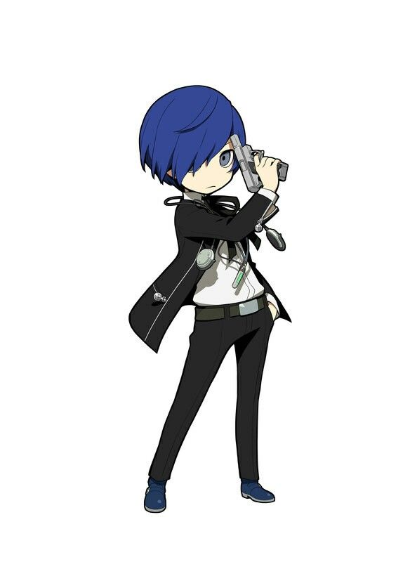 Persona Q2 - Makoto Yuki | Gamer & Anime Art wallpapers | Persona q