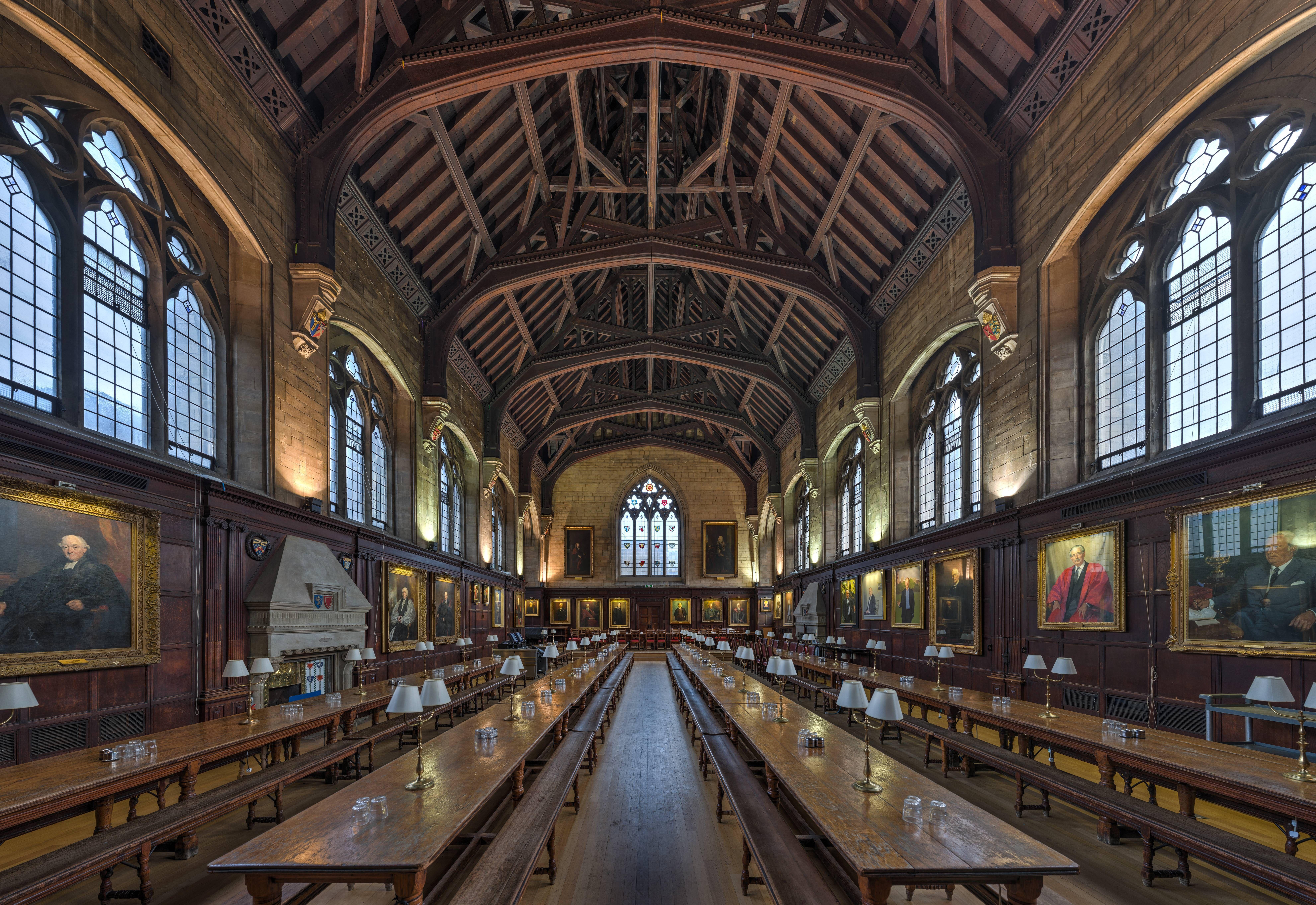 Balliol College Dining Hall At Oxford University College Dining Hall Dining Hall Balliol College