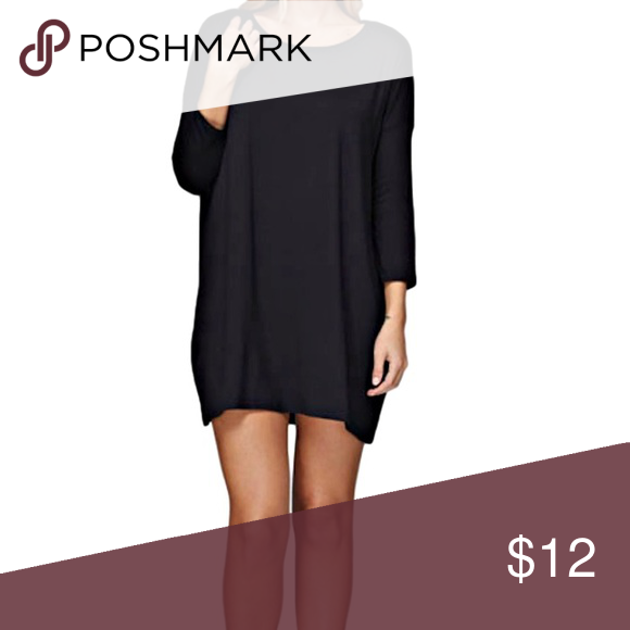 Black Jersey Dress Yes, please!! This dress is one of those you will have to tell yourself you are wearing too often! Dresses