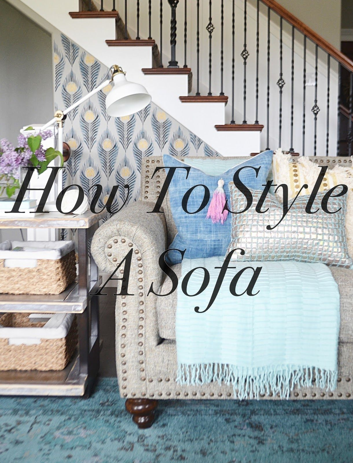 How to style a sofa living room inspirations pinterest the o