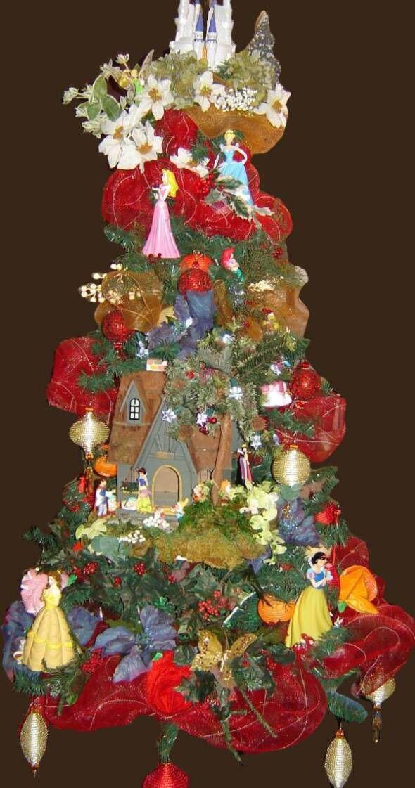 Royal Princess Christmas Tree Christmas Tree Themes Disney Christmas Tree Disney Christmas Tree Decorations