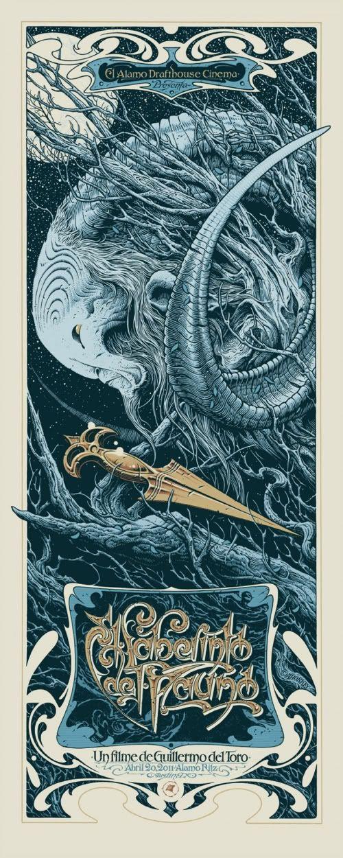 Pan's Labyrinth Art Noveau