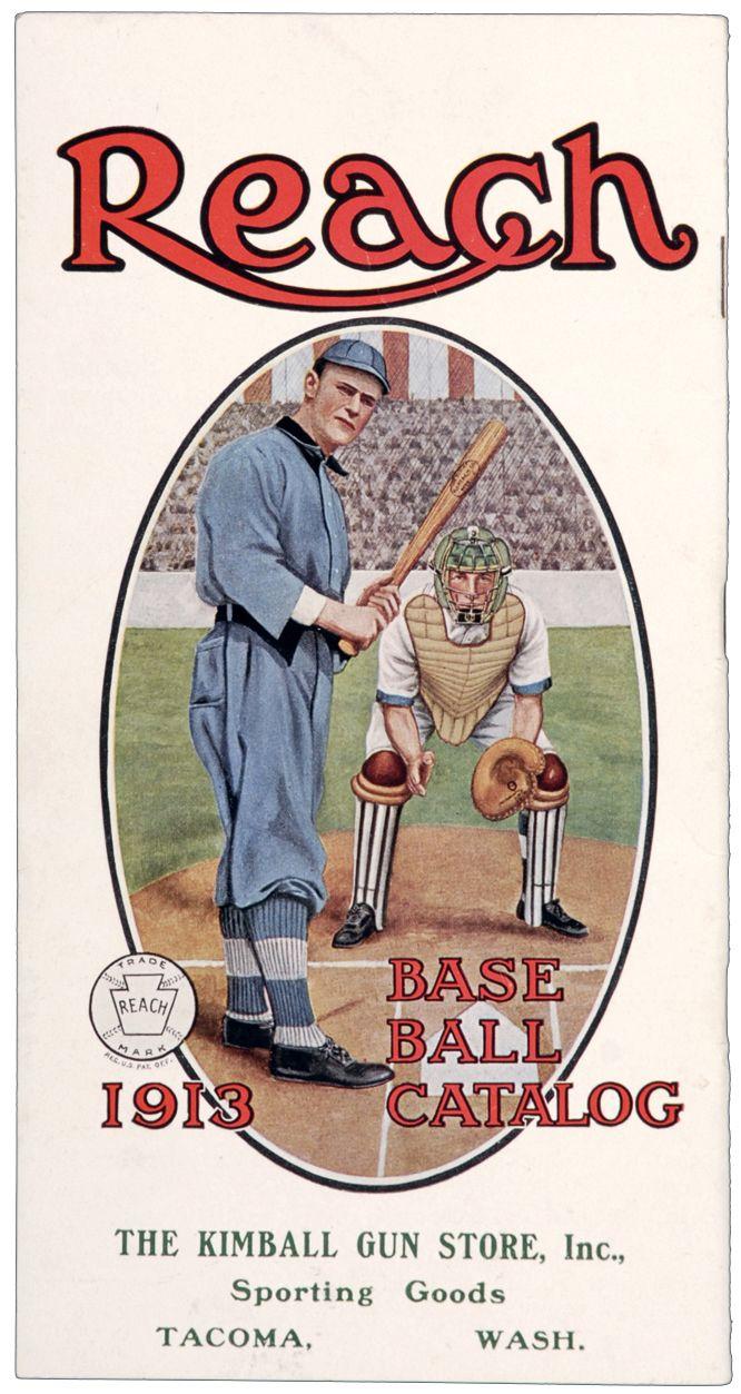 1913 A. J. Reach Sporting Goods Catalog Featuring Sam