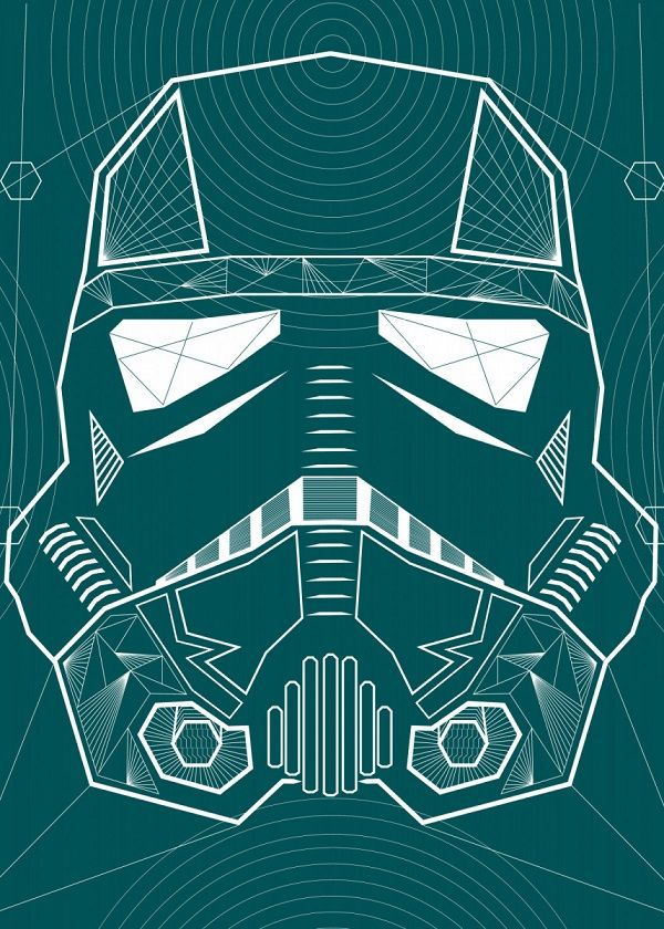 Star Wars Negative Illusion Wars Displate Posters