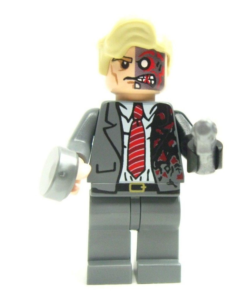 Lego custom - - - - - - TWO FACE - - - - - - from - -DARK ...