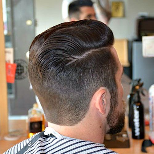 The Best Neckline Haircuts Blocked Rounded Tapered Hairstyles