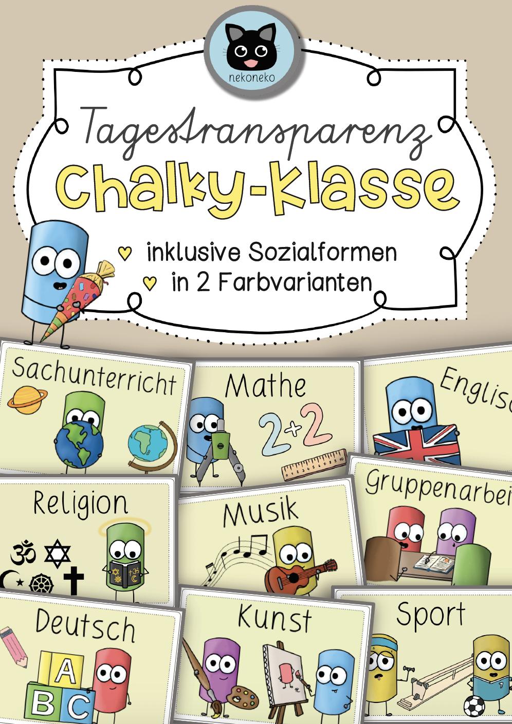 Unterrichtsfächer Grundschule