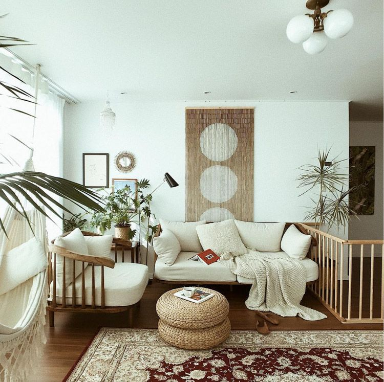 My Scandinavian Home Step Inside A Relaxed Bohemian Family Home In South Korea In 2020 Creative Living Room Ideas Cosy Living Room Home Decor