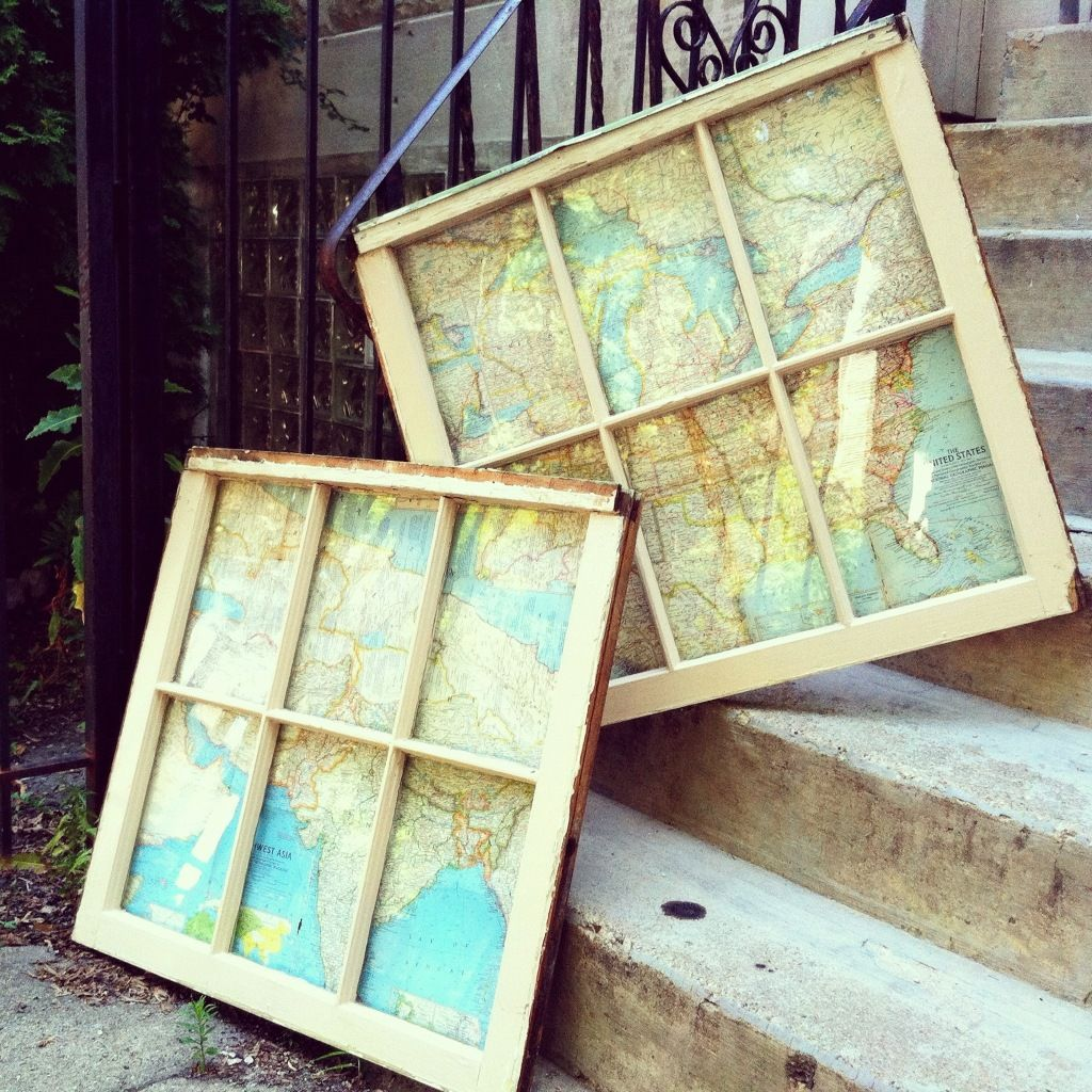 Ideas for old window frames  such an awesome idea  next year house ideas  pinterest  craft