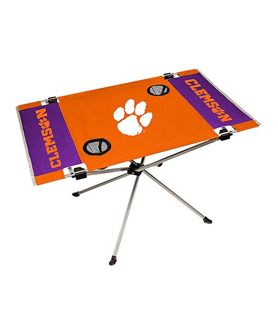 Clemson Tigers End Zone Portable Table