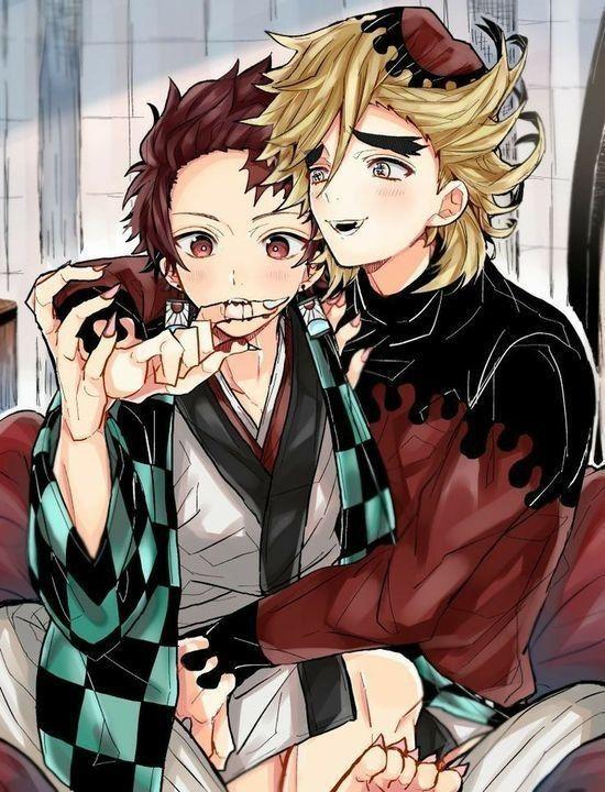 Demon Slayer Fanart - douma and tanjiro