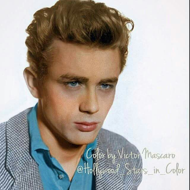 James Dean in color