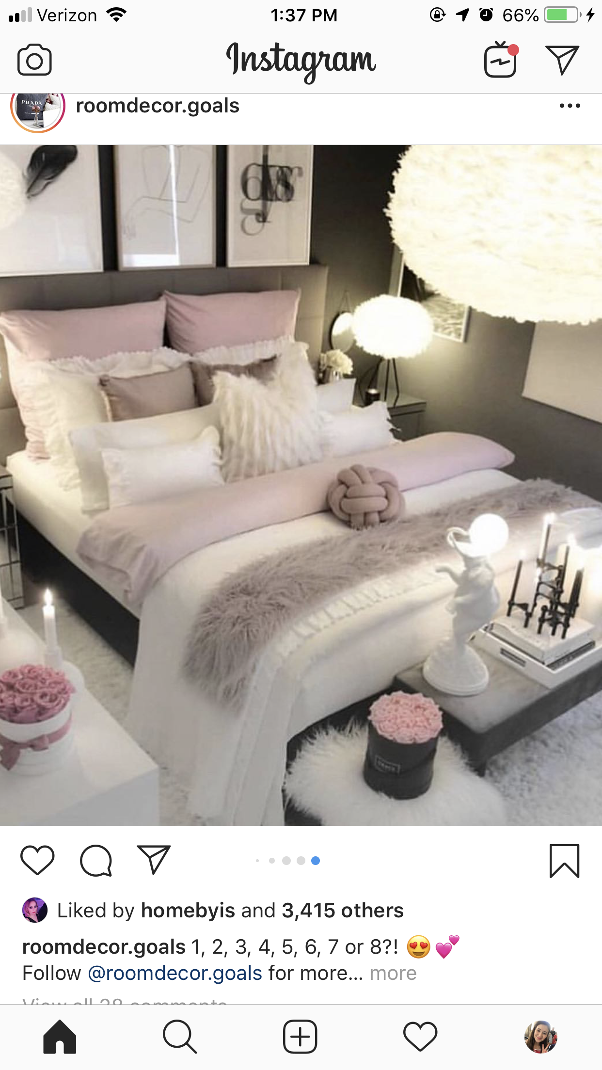 Pin By Chloe On Apartments White Bedroom Decor Luxurious Bedrooms Bedroom Interior