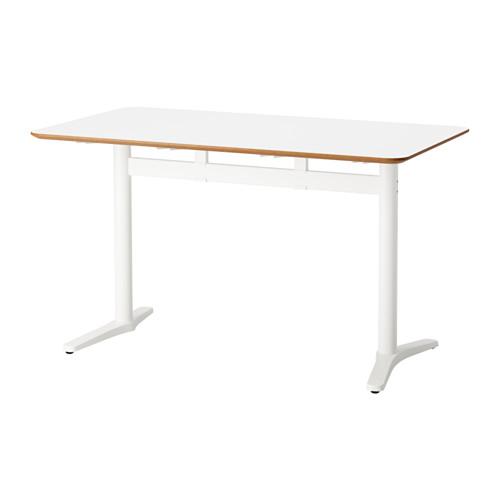 Billsta Table Blanc Blanc Aménagement Clinique Meuble