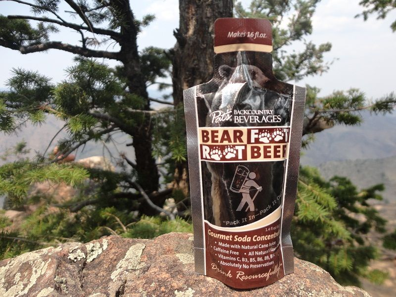 Bear Foot Root Beer.  Tasty treat for kids of all ages.