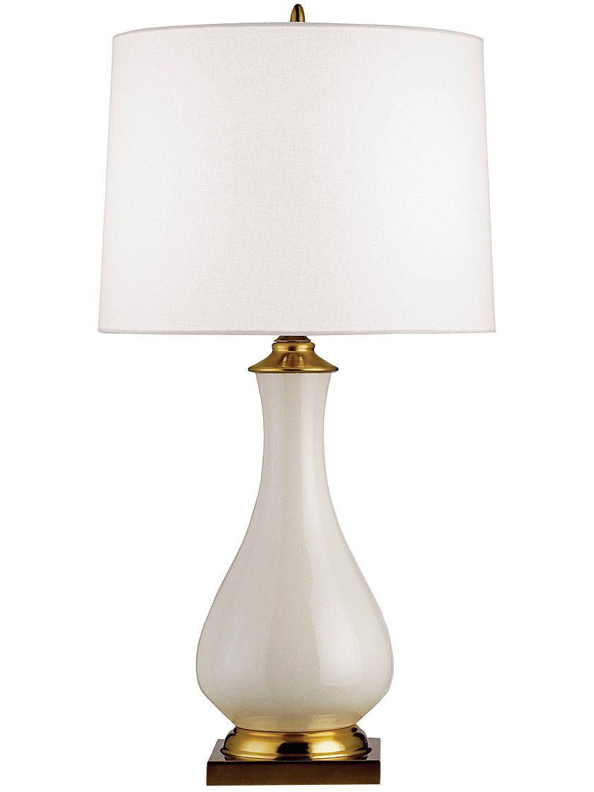 Lynton Table Lamp With Off White Linen Shade Table Lamp Lamp Cream Table Lamps