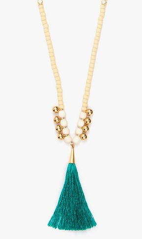 Mint Elizabeth Necklace